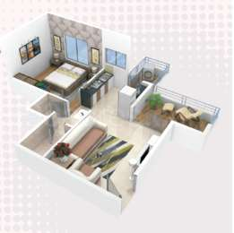 1 BHK Apartment in Choice Everest Plaza