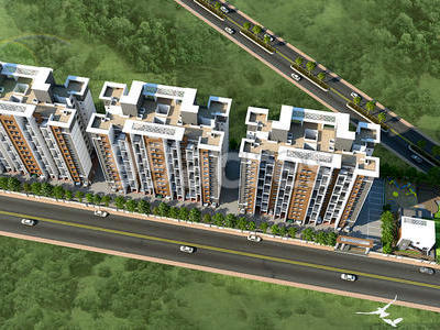 Choice Group Laxmi Group Garg Spaces and Ace Devel Park Vista Lohegaon, Pune