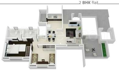 2 BHK Apartment in Icon Linera
