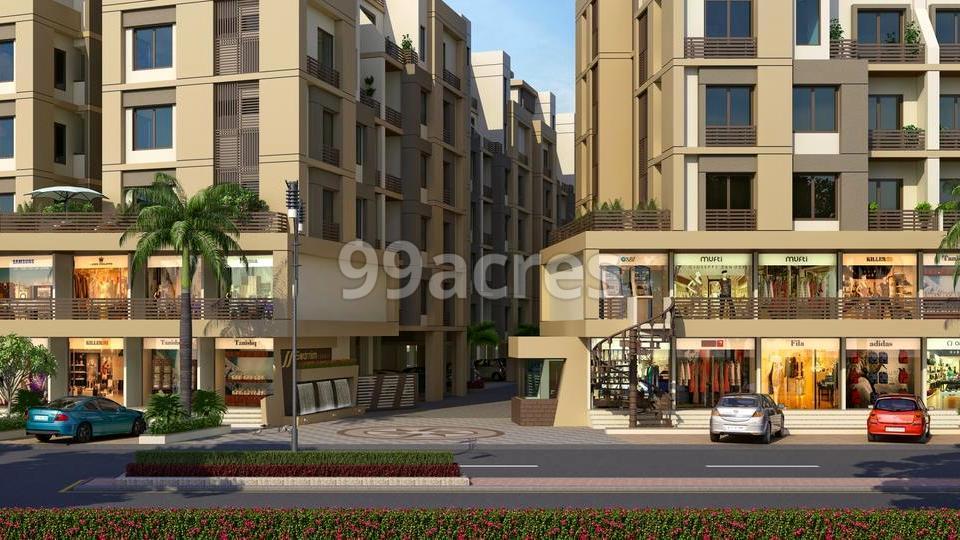 Swarnim Square Entrance