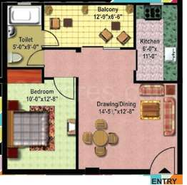 1 BHK Apartment in Citizen Neo Heights