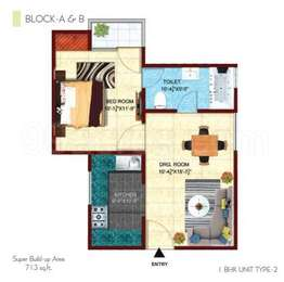 1 BHK Apartment in Citizen Shubhalay