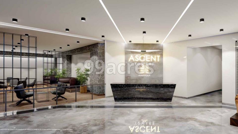 Amanora Ascent Tower Entrance Lobby