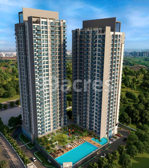 Amanora Ascent Tower Elevation