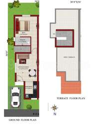 1 BHK Villa in Colorhomes Blue County