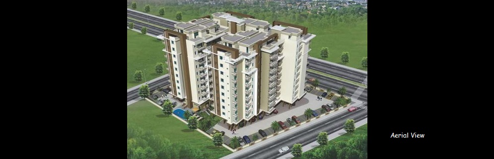 Coral Arihant Heights Aerial View