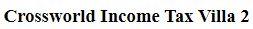 LOGO - Crossworld Income Tax Villa 2