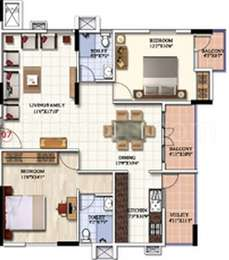 2 BHK Apartment in Cubatic Shimul Aloha