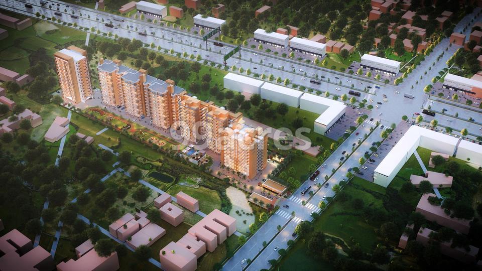 Altura Apartments Aerial View