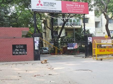 Dda d3 and d4 vasant kunj sector d vasant kunj delhi south for Dda new project in delhi