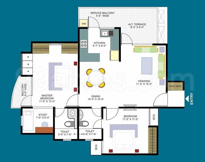 Dasnac Design Arch Builders Dasnac Designarch eHomes Floor Plan ...