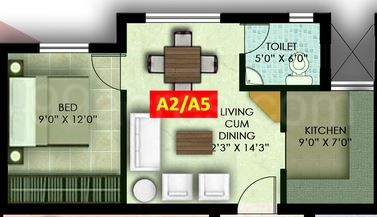 1 BHK Apartment in Devi Morning Glory