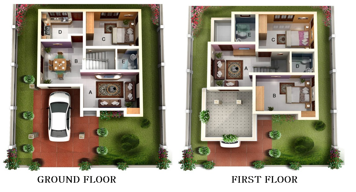 Dew Homes Builders Airport Greens Floor Plan