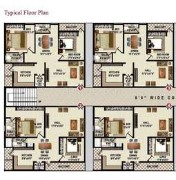 2 BHK Apartment in Dhanvi Hill View