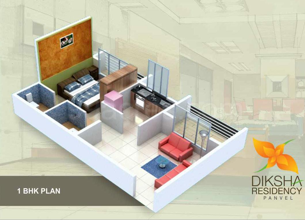 Diksha Enterprises Builders Diksha Residency Floor Plan