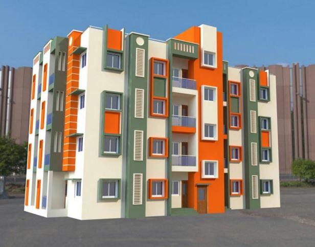 Divya Rajani Apartment Elevation
