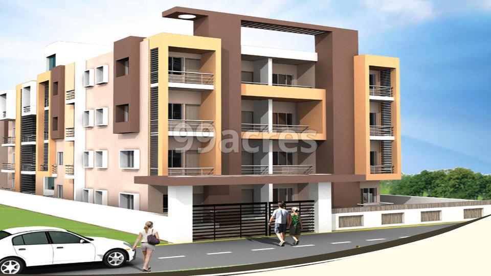 Divya Residency Artistic Elevation