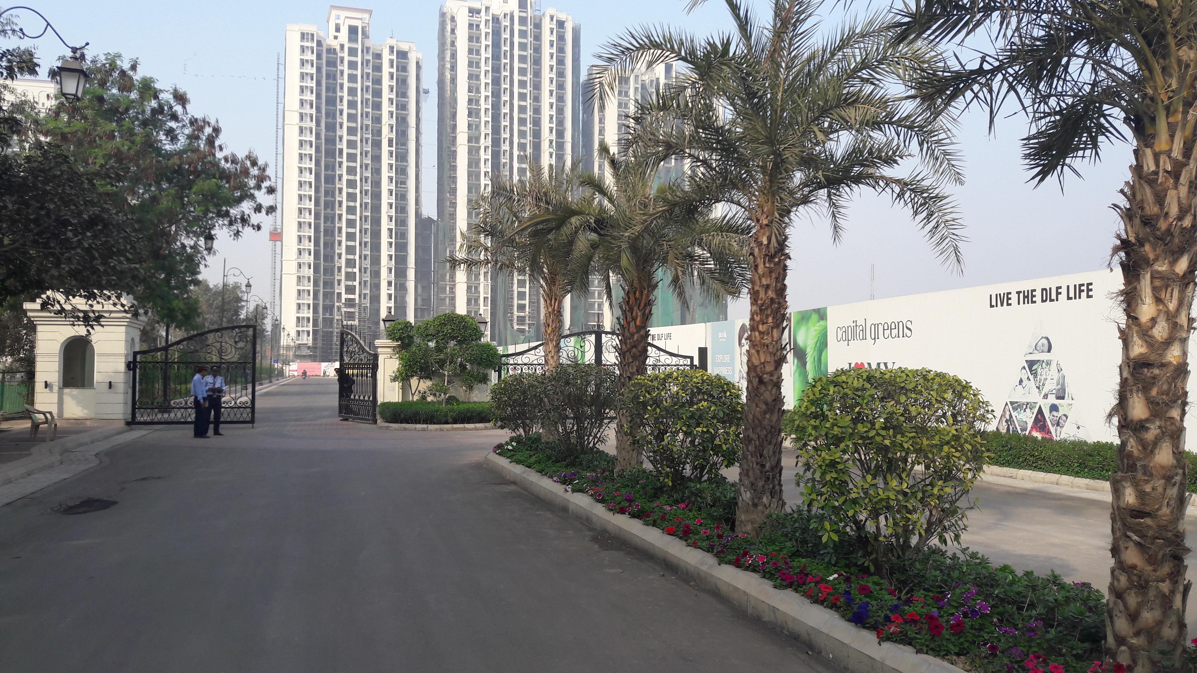 3 Bhk Apartment Flat For In Dlf Capital Greens Moti Nagar Delhi West 1415 Sq Ft To 1753