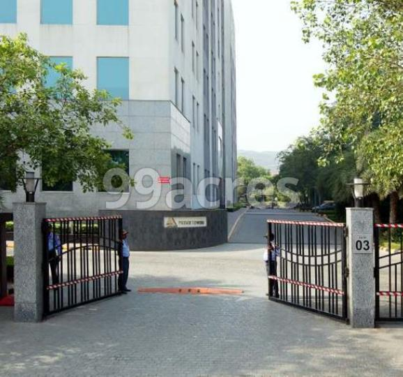 DLF Prime Towers Entrance