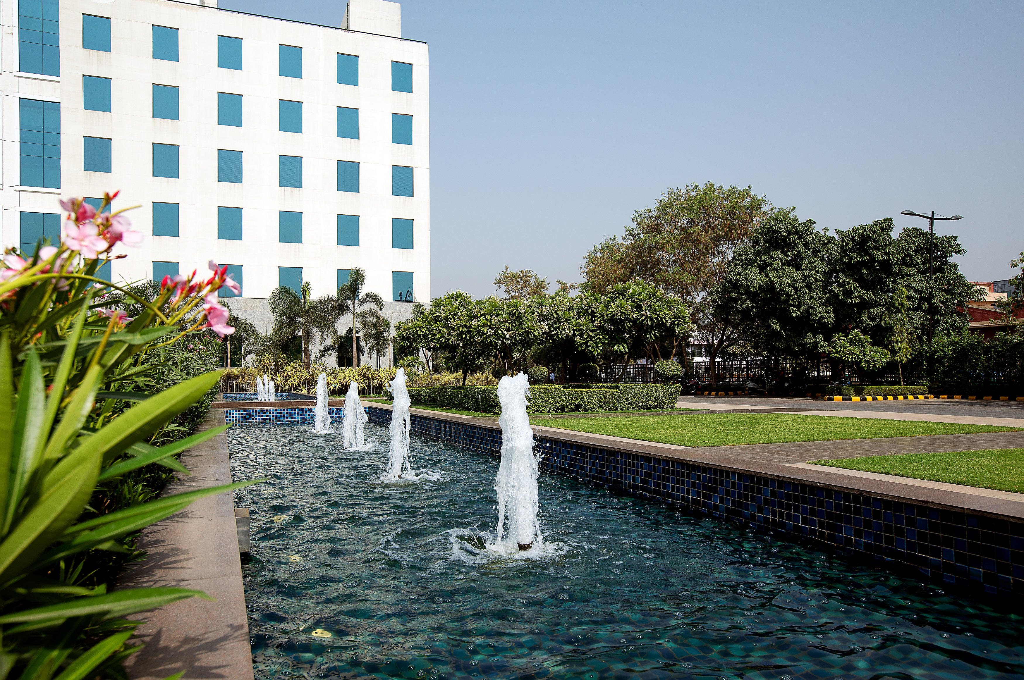 DLF Prime Towers Fountain