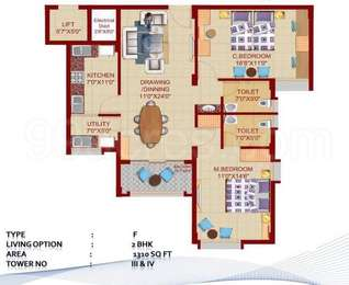 2 BHK Apartment in DN Northern Heights