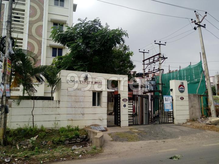 Doshi Trinity Park Entrance