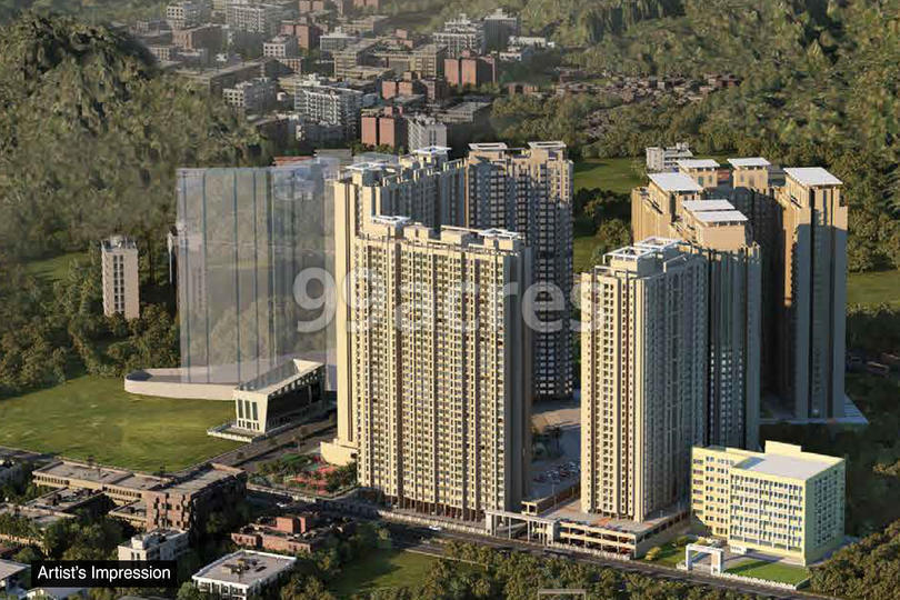 Dosti Planet North Aerial View