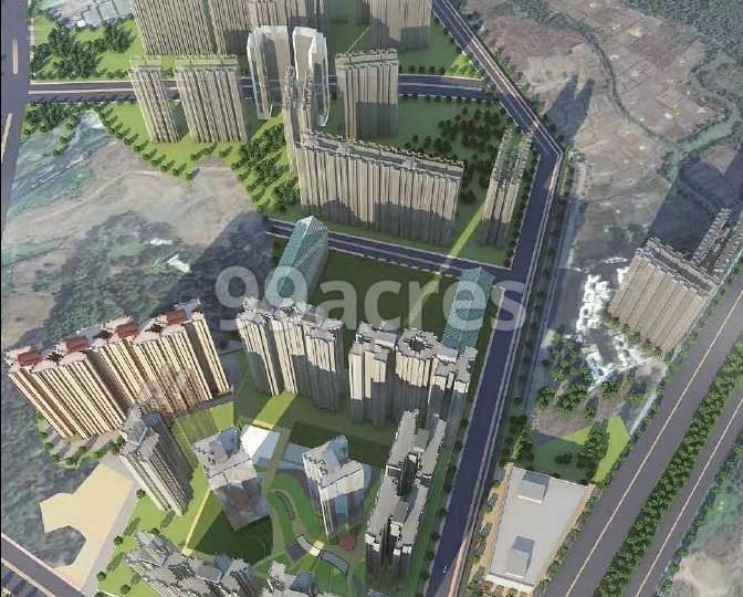 Dosti Codename Landmark Artistic Aerial View