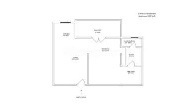 1 BHK Apartment in Dreams Estate