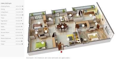 3 BHK Apartment in DSR Reganti