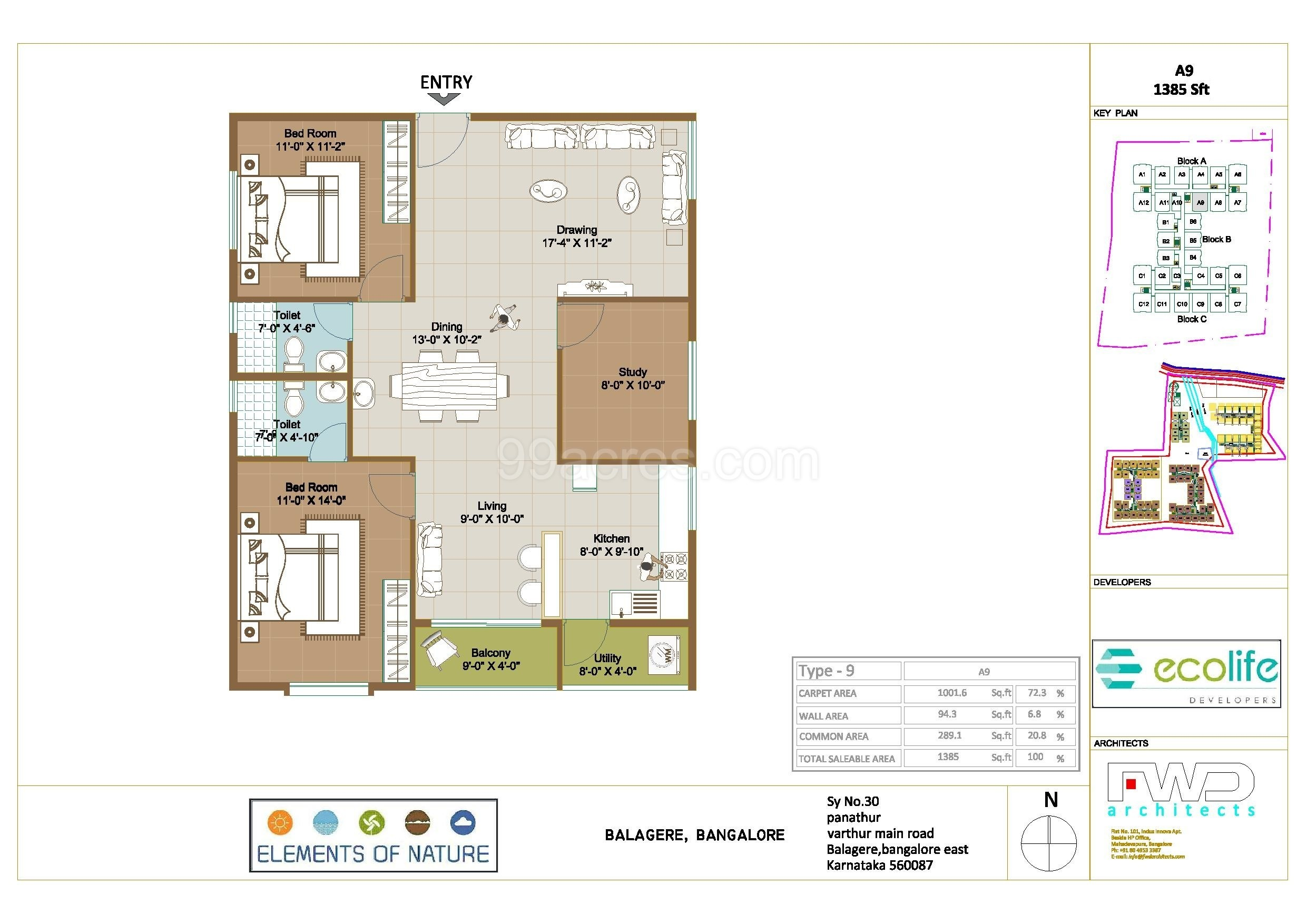 Ecolife Developers Ecolife EON Floor Plan - Ecolife EON