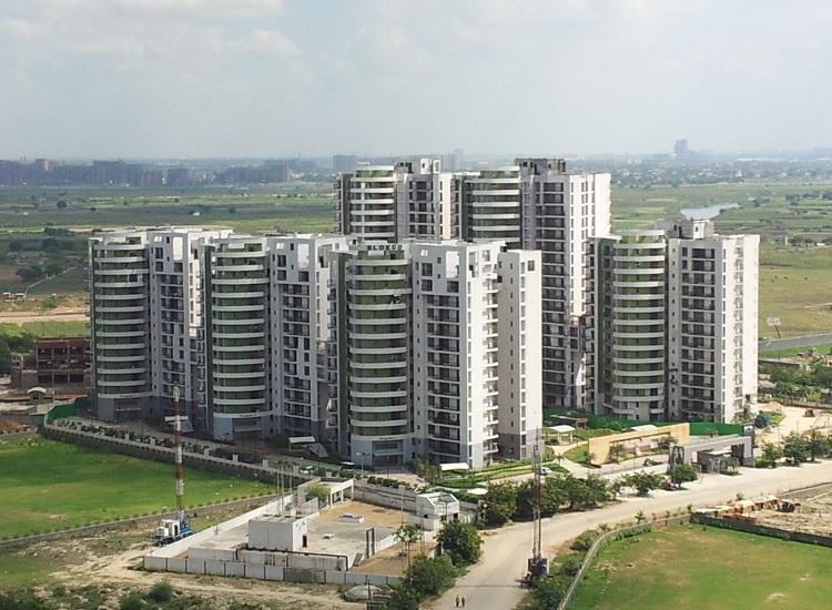 Eldeco Aamantran Aerial View