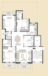 3 BHK Apartment in Emaar MGF Emerald Floors Premier