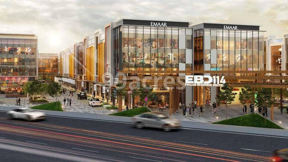 Emaar Business District 114 Elevation