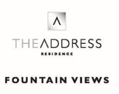 LOGO - The Address Residences Fountain Views