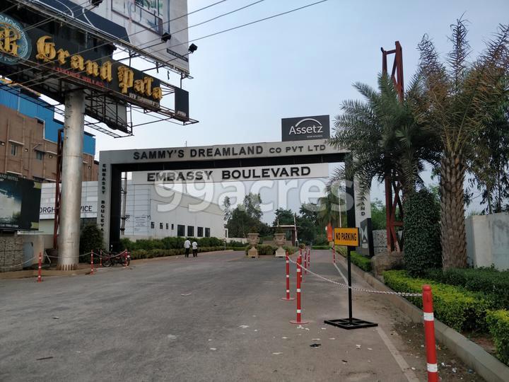 Embassy Boulevard Entrance