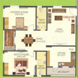 2 BHK Apartment in Empire Meadows