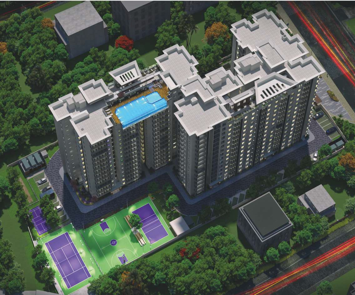 Centreo By Prime One Corp  and Enessen Estates Aerial View