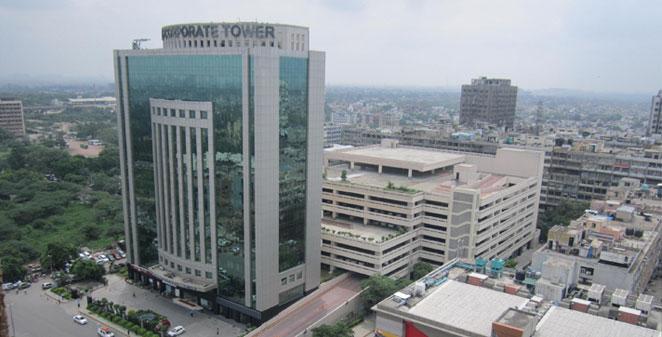 Eros corporate towers nehru place