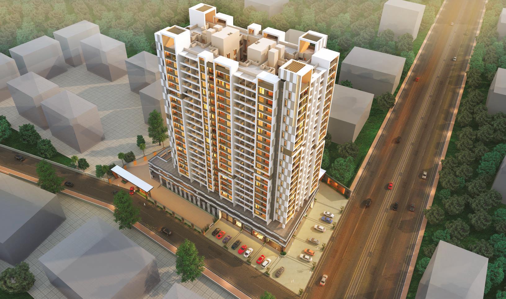 Aishwaryam Comfort Gold Aerial View