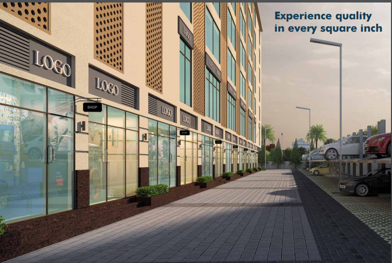 Experio at Experion Capital Paved Compound