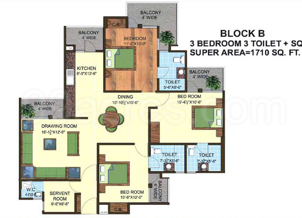 Express Properties Express Greens Floor Plan Express Greens