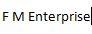 F M Enterprise