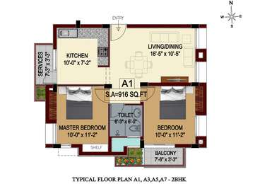 2 BHK Apartment in Fomra Celebration