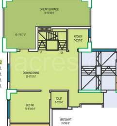 1 BHK Apartment in Fort Oasis