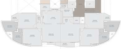 4 BHK Apartment in 24K by Fortune