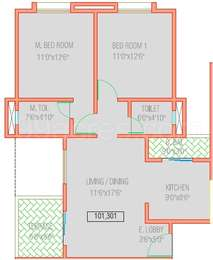 2 BHK Apartment in Frost Hills