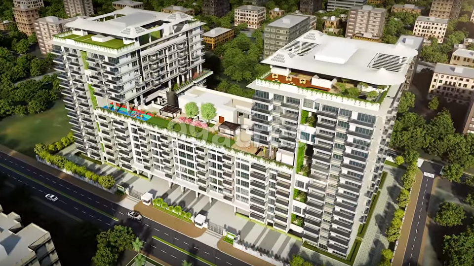 G Corp Residences Aerial View
