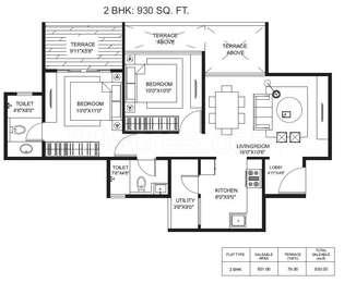 2 BHK Apartment in Gagan Adira