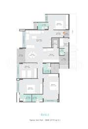 4 BHK Apartment in Gala Marvella